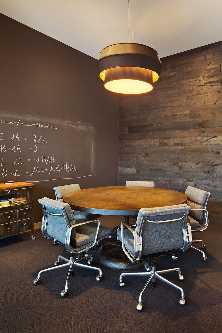 Inspirerende vergaderruimte van Dropbox