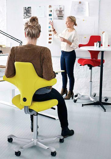 Ergonomische bureaustoel met design look
