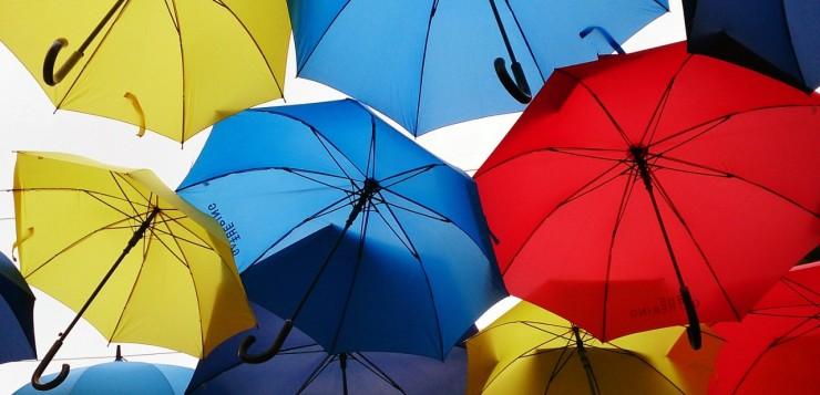 Paraplu als relatiegeschenk geven