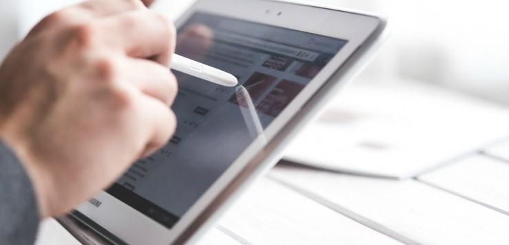 Touchscreen apparaten voor bedrijven