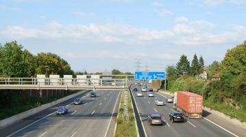 Adverteren langs de snelweg