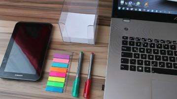 tips voor opgeruimd bureau