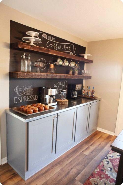 Koffie hoekje voor thuis of op kantoor