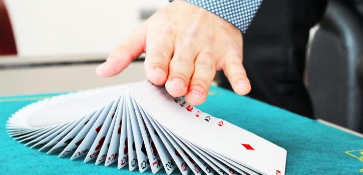 goochelaar voor bedrijfsfeest