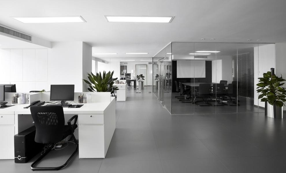 interieur voor het kantoor