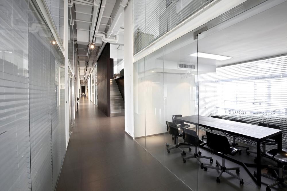 moderne inrichting op kantoor