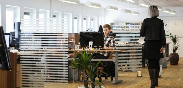 een kantoor die een verbouwing nodig heeft
