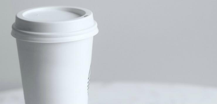 papieren koffiebekers