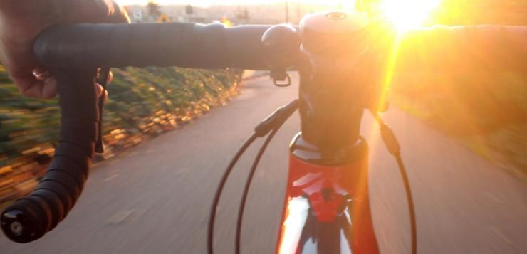 met e-bike naar werk