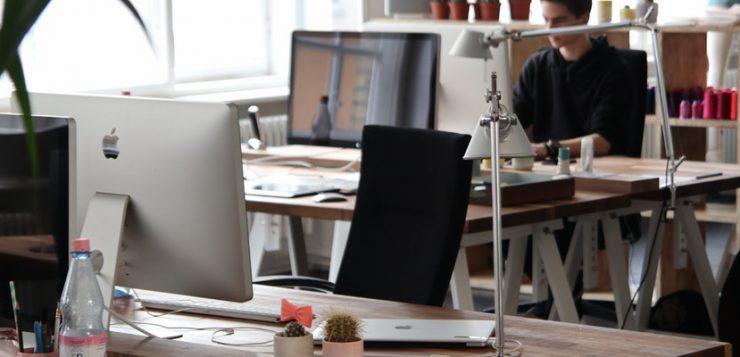 inrichting van een kantoor