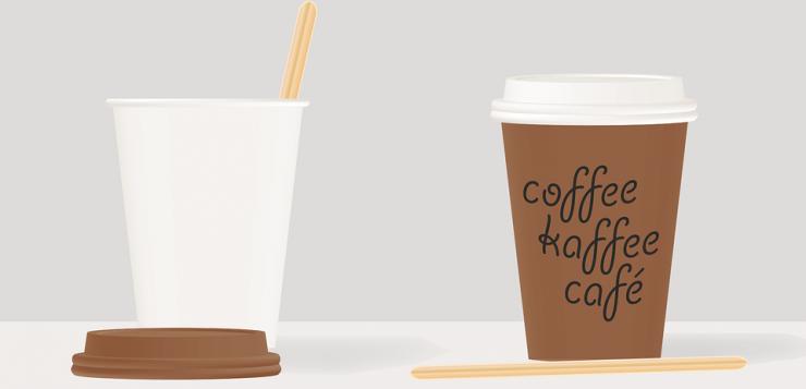 Roerstaafjes voor bij koffiebekers