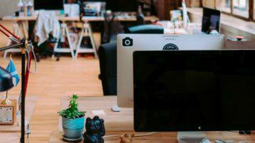 onderhouden eiken vloer kantoor