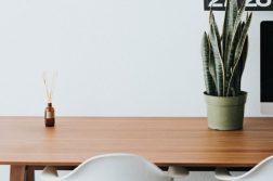 opgeruimd en schoon bureau