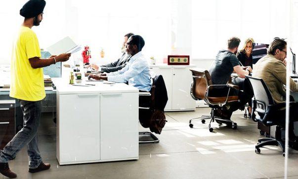 industriele kantoorinrichting