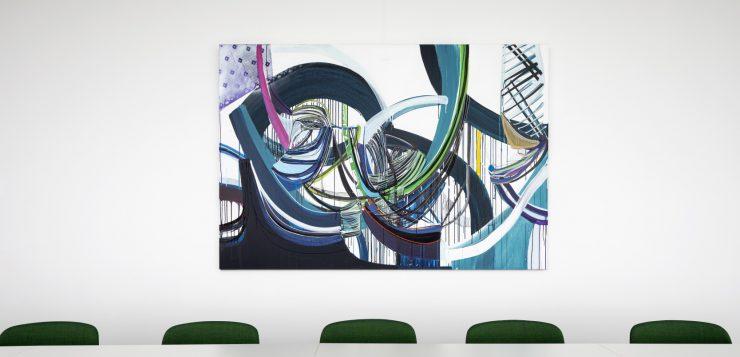 4 keer het positieve effect van kunst op kantoor