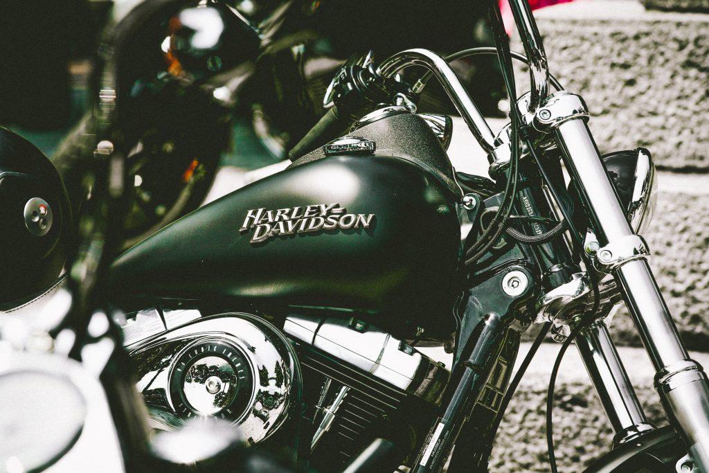 De eerste motor van Harley-Davidson werd gebouwd in een garage.